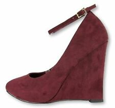 Women's Suede Wedge Heels