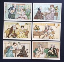 Artist postcard - Set of 6 Music / Romance cards by Florence Hardy