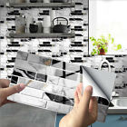 12/24pcs 3d Sticker Kitchen Tile Stickers Bathroom Self-adhesive Wall Home Decor