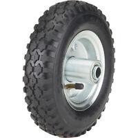 Ironton 8in. Pneumatic Wheel and Tire- 250-Lb. Capacity, Knobby Tread