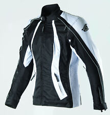 New AGVsport Xena Ladies Textile Motorcycle Jacket Waterproof CE Armour Vented