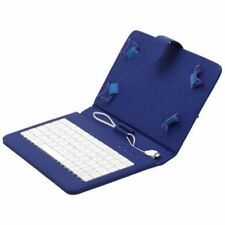 Custodie e copritastiera blu in pelle sintetica per tablet ed eBook 10.1""