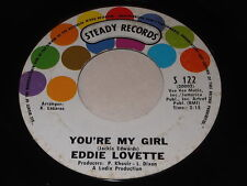 Eddie Lovette: You're My Girl / By-ooh-paooh-pa-pa-ya 45