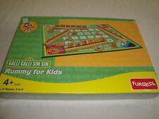 NEW FACTORY SEALED GALLI GALLI SIM SIM RUMMY FOR KIDS FUNSKOOL GAME .