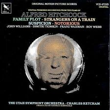 Alfred Hitchcock: Family Plot / Strangers On A Train / Suspicion / Notorious (Fi
