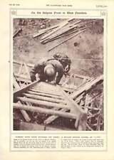 1916 West Flanders Belgian Front O-pip Officer Observation Post Ladder