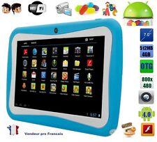 Tablette tactile 7 pouce jeux Educative enfant android wifi google play 4Gb Bleu