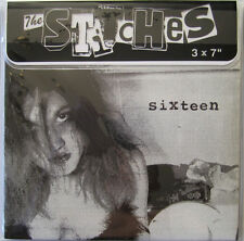 """THE STITCHES 3X7"""" SIXTEEN TALK SICK SMOGTOWN JUNK BODIES US BOMBS SMUT PEDDLERS"""