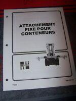 4J Manuel HYSTER Attachement Fixe H16.00-30.00C H17.00-32.00C H36.00-44.00B 48