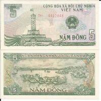 VIETNAM BILLETE 5 DONG 1985 P 92