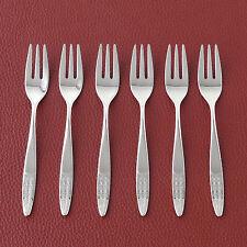 6er Set WMF »RIO« Kuchengabeln Besteck ✱ Silberbesteck Patent-90 versilbert TOP
