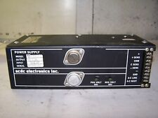 ACDC ELECTRONICS 12 VOLT 2.7 AMP POWER SUPPLY 12D2.7-1-2-26