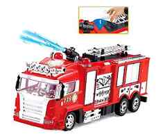 R/C Rescue Fire Engine Truck Radio Control Shoots Water Liberty Imports .