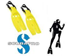 Scubapro -Twin Jet - Hi Viz Yellow - SMALL + FREE Scubapro Buckle Kit
