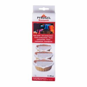 Dexam Pyrogel Fondue Gel Fuel 95ml Pack Of 3