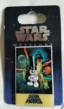 Disney Star Wars Weekends 2007 Pin - Logo Limited Edition