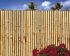Bamboo Fence-6 Ft Sections Natural Color- 2 Foot Tall or 6 Foot Tall