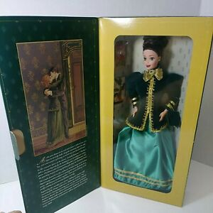 Vintage Yuletide Romance Barbie 3rd in a Series exclusively designed by Hallmark