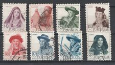 Portugal-1947-Traditional Dresses -Y&T 688/95-Mundifil 677/84- Set- 8 Stamps