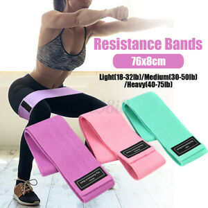 Bands Resistance Bands Elastic Workout Gym Fitness Yoga Buttock #