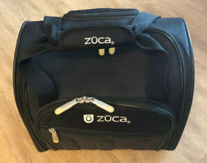 Zuca Black Skipper Artist Bag