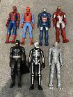 Job Lot of Marvel Comics and DC Comics Action Figures. 12