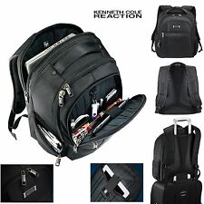 "Kenneth Cole Tech Laptop Backpack 17"" Laptop / MacBook Pro Black  Backpack - New"