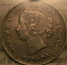 1900 CANADA SILVER 5 CENTS COIN - ICCS VF-20 - Round 0