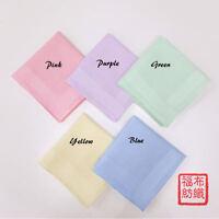 Quality 100% Cotton Handkerchiefs Hanky Pocket Square Soft Men Women New 40*40cm