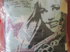 Kissen Kuschelkissen groß 40x40cm Hannah Montana NEU OVP Zuckertüte Einschulung