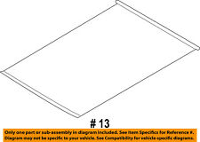 FORD OEM 13-16 Escape Sunroof Sun Roof-Sunshade Shade Cover CJ5Z78519A02AA
