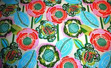 Blumen 50 X 112 cm Amy Butler Blätter Free Spirit  Baumwolle Ranken