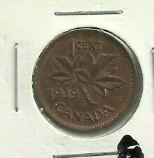 1939  Canada  1 Cent  EF