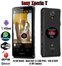 "Sony XPERIA T 16GB Dual Core (Ohne Simlock) WLAN 3G GPS 13MP 4,6"" HD Bravia GUT"