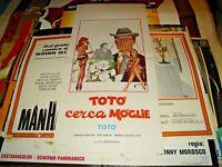 Toto 'Suche Frau Plakat Original Jahre '60 Toto '