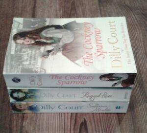 3 x Dilly Court Paperback Books - (Bundle, Job Lot)