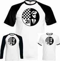 The Specials Mens 2Tone T-Shirt Rude Boy Two Tone 2 Tone Ska Music Records Top