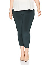 Sympli Women's Plus-Size Fitted Legging, High Rise, Graphite, 1X