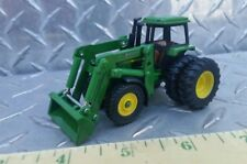 1/64 CUSTOM JOHN DEERE 4450 FWA TRACTOR WITH DUALS & KOYKER LOADER ERTL FARM TOY