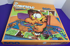 """500 Piece Garfield Odie Doing Puzzle 18"""" x 24"""" Jigsaw Puzzle American Publishing"""