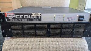 Crown Com-Tech 410 Power Amplifier (2 Available)