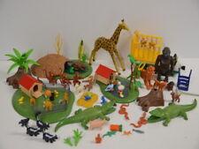 28 ) Playmobil viele Tiere und Zubehör für Zoo Tierpark Affe Krokodil Giraffe ..