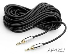 """25ft Premium 3.5mm (1/8"""") Stereo Male to Male Audio Cable, CablesOnline AV-125J"""