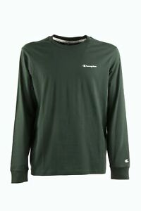 T-shirt manica lunga verdone CHAMPION