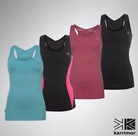 Ladies Karrimor Breathable Long Bra Vest Sleevless Top Size 6 8 10 12 14 16 18