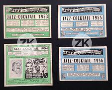 JAZZ COCKTAIL Movie HAMPTON BASIE HOLIDAY VAUGHAN DORSEY Hot Club 4 FLYERS 53/56