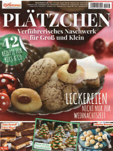 Küchenspass Sonderheft Plätzchen Kekse Naschwerk Rezepte Backen