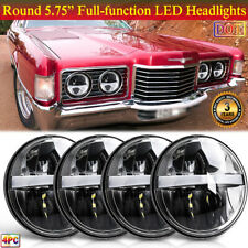 "4pcs 5.75"" Full-function DOT LED Headlights Plug & Play for Ford Thunderbird LTD"