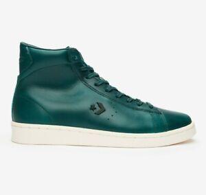 Converse x Horween Pro Leather Hi Men's Shoes size 10.5 Lyons Blue/Egret 168751C