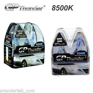 GP Thunder 8500K 9005XS 9006XS Xenon Halogen Light Bulbs High+Low Beam 2 Pairs